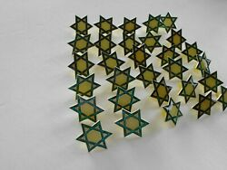 Lot Of 30 Star Of David Pins Religious Jewish Collectible Lapel