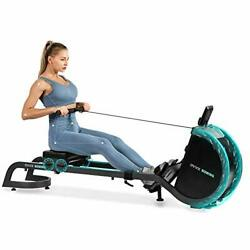 Magnetic Rowing Machine For Home Use Foldable Indoor Rower Exercise Black