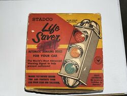 Stadco Life Saver Traffic Stop Light Accessory Vintage Gm Ford Chevy Dodge