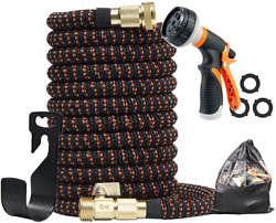 Water Hose Expandable Garden Hose With 8 Functions Nozzle And Durable Connectors