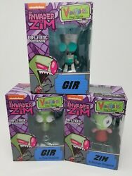 Invader Zim In Human Disguise Gir In Dog Disguise Vinimates Lot Set Hot Topic