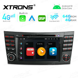 For Mercedes-benz E-w211 Android 10 Car Stereo Dvd Player Gps Radio 8-core 4+64g