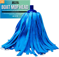 Better Boat Synthetic Chamois Mop Head Boat Cleaning Products Wash Mop For Deck