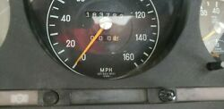 From 1974 Model Mercedes Benz R107 Instrument Cluster 450sl 1075421801 Tested