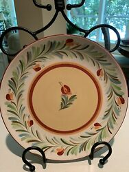 New Set Southern Living At Home Gail Pittman Siena Large 11 1/4 Dinner Plates
