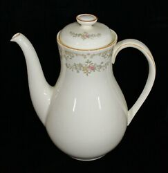 Discontinued Royal Doulton Romance Collection Diana Pattern Coffee Pot New