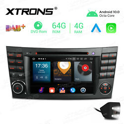 For Mercedes-benz E-w211 7 Android 10 Car Stereo Dvd Gps Radio 8core 4+64g +cam