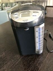 5l Zojirushi Water Boiler And Warmer Cd-lcc, Black Thermos Pot Heater