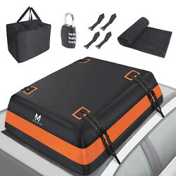 Mictuning Suv Car Rooftop Bag Cargo Carrier 21 Cubic Waterproof Luggage Storage