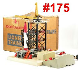 Lionel Pw 175 Rocket Launching Pad W/controller And Box /401/ 1958-60