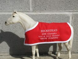 HICKSTEAD embroidered blanket Breyer Canadian Canada show jumper jumping horse