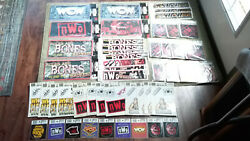 Large Lot Of Nwo Items-license Plates-stickers-etc. Sealed-new Mbd