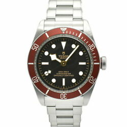 Auth Tudor Watch Heritage Black Bay 79230r Case41mm Arm20cm Ss Automatic F/s
