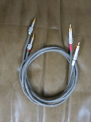 Rca Interconnect Cable 1 M 2 Western Electric Cloth Shield Wire For 300b Amp