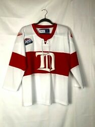 Nwot Detroit Red Wings Winter Classic Official Jersey 2009 Youth L/xl Women
