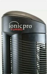 Ionic Pro Turbo Ta500 Silent Air Purifier Black Germicidal Protection Large Room