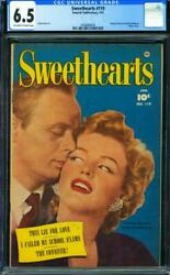 Sweethearts 119 [1953] Certified 6.5 Only- Mm Photo Cover
