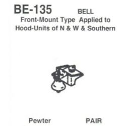 Details West 135 - Bell Front Mount Nandw And South Hood Units Pr - Ho Scale