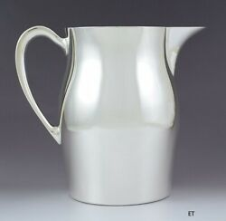 Lovely Poole Sterling Silver Colonial Paul Revere Style 64oz Water Pitcher