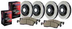 Disc Brake Upgrade Kit-preferred Pack Front Rear Centric Fits 2002 Acura Rl