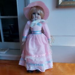 Nib W Tags Schmid 18 Porcelain Musical Doll  I Could Have Danced All Night