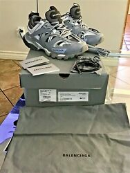 Balenciaga Led Light Up Track Trainers In Grey Sold Out Size 39c Usa Size 9