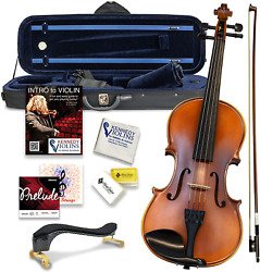 Bunnel Premier Violin Clearance Outfit 4/4 Full Size - Carrying Case And Accesso