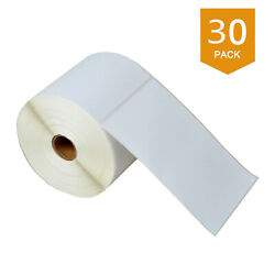 30rolls 4x6 Direct Thermal Shipping 500 Labels For Zebra Lp2824 Lp2442 Tlp2844