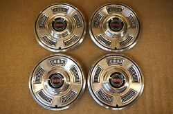 1967 Chevelle Ss 396 Hubcaps Set Of 4 Super Sport 67