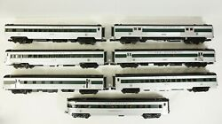 Rare Mth O Scale New Haven 70' Streamlined Passenger Set 68240 69240 5694a 5694b