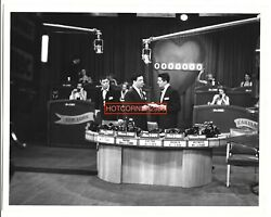 Jerry Lewis Dean Martin Jackie Gleason Muscular Dystrophy Telethon 1952 Tv Photo