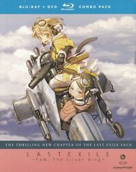 Last Exile Fam The Silver Wing Part Two Blu-ray Disc/dvd, 2013, 4-disc Set