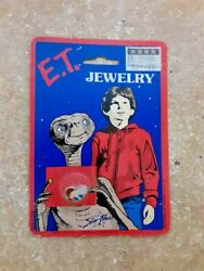 Vtg Et Extra Terrestrial Movie Earrings Promo Merch Jewelry 80and039 Fast Shipping