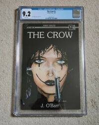 The Crow 1 Cgc 9.2 White Pages 1st Print Caliber Press