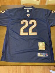 Matt Forte 22 Chicago Bears Jersey Nfl Stitched Size 52 With Mini Figure