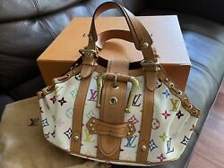 Authentic Louis Vuitton Limited Edition Theda Multicolor - Dust Bag And Box