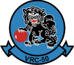 Official Us Navy Vrc-50 Fleet Tactical Support Squadron 50 Decal
