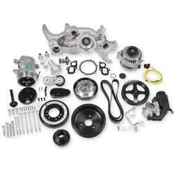 Holley 20-200 Lt Mid-mount Complete Accessory Drive Kit Fits All Lt Engines Brac
