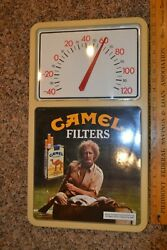 Camel Filter Cigarettes Vintage Wall Thermometer Must See Picture