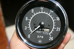 Ac Vintage Truck 2400 Rpm 4 5/8 Tachometer And Hours Meter - F4