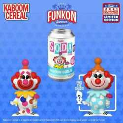 Funko Soda Kaboom Cereal Funkon Chance Of Chase Order Confirmed