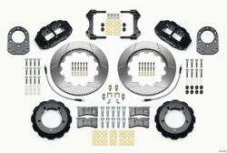 Wilwood Narrow Superlite 4r Front Hat Kit 14.00in For 66-75 Ford Bronco Dana 30/