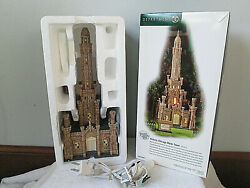 Department 56 Historic Chicago Water Tower Orig Box Opened-unused