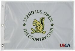 2022 Us Open Championship The Country Club Official Embroidered Golf Pin Flag ⛳️