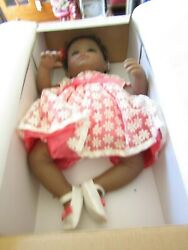 The Ashton-drake Galleries Only From The Bradford Exchange Brown Baby Doll