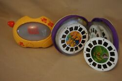 1998 Mattel Viewmaster Winnie The Pooh With 17 View Master Reels-used