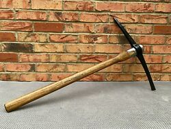 1976 British Army Pick Axe Land Rover Jeep Military Pioneer Tool Reclaimed
