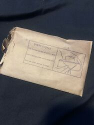 Nos Vintage 1930and039s 1940and039s Accessory Car-nu Rear View Mirror Glare-shield