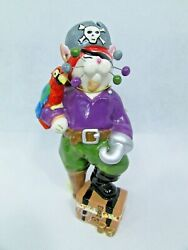 Amy Lacombe Whimsiclay Pirate Cat Captain Crossbones 86253 2006
