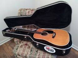 Martin D-28 613113 Acoustic Guitar With A Hard Case